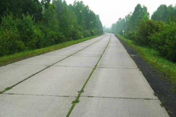 Строительство дорог из железобетонных плит